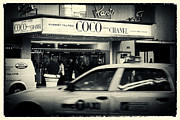 Taxi Cab Photos - Movie Theatre Paris in New York City by Sabine Jacobs