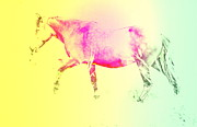 Moving Spirit Print by Hilde Widerberg