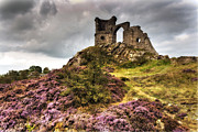 Mow Prints - Mow Cop Castle - Folly - Staffordshire.  Print by George Standen