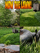 Mow Prints - Mow The Lawn Print by Trever Miller