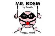 Bdsm Framed Prints - Mr BDSM Framed Print by NicoWriter