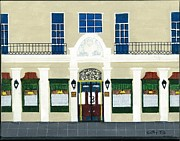Bistro Paintings - Mr. Bs Bistro by Rob Smith