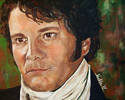 Pride Paintings - Mr. Darcy by Noelle Rollins