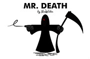 Ripper Prints - Mr Death Print by NicoWriter