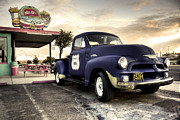Burger Metal Prints - Mr Dz Diner  Metal Print by Rob Hawkins