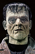 Living Dead Prints - Mr. Frankenstein Mugshot Print by Daniel Hagerman