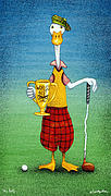 Greatest Metal Prints - Mr Golf... Metal Print by Will Bullas