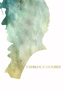 Benedict Digital Art Framed Prints - Mr. Holmes Framed Print by Nomad Art And  Design