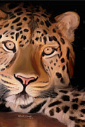 Dangerous Drawings Framed Prints - Mr. Leopard Framed Print by Nydia Williams