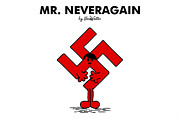 Shame Metal Prints - Mr Neveragain Metal Print by NicoWriter