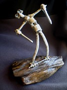 Steel Sculptures - Mr. Pain by Todd Spaur