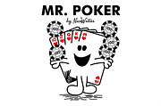 Hold Digital Art Posters - Mr Poker Poster by NicoWriter