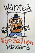 Reward Prints - Mr. Potato Head Gone Bad Print by Robert Meanor