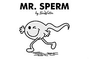 Sperm Digital Art - Mr Sperm by NicoWriter