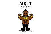 A-team Prints - Mr T Print by NicoWriter