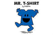 T-shirt Metal Prints - Mr T-Shirt Metal Print by NicoWriter