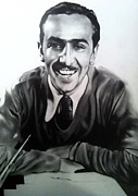 Carl Baker Art - Mr. Walt Disney by Carl Baker