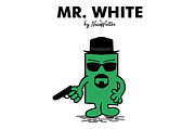 Mr Prints - Mr White Print by NicoWriter