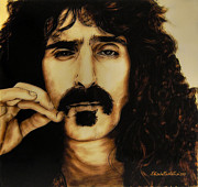 Frank Zappa Posters - Mr Zappa Poster by Betta Artusi