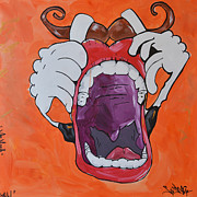 Sasha Prints - Mr.Mouth  Print by Sasha  TheArtist