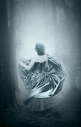 Photomanipulation Metal Prints - Mrs G Metal Print by Svetlana Sewell