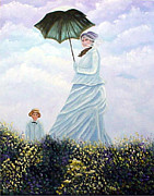 Camille Originals - Mrs. Monet and Son by Fran Brooks