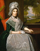 Famous Artists - Mrs Richard Alsop by Ralph Earl