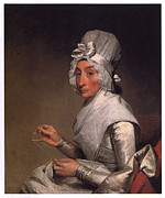 Gilbert Paintings - Mrs Richard Yates by Gilbert Stuart