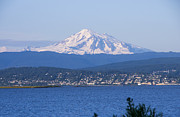 Baker Island Photos - Mt Baker - Lummi by Louise Magno