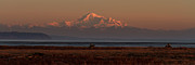 Mt Baker Prints - Mt Baker at Sunset Print by Reflective Moments  Photography and Digital Art Images