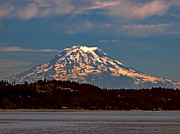 Baker Island Photos - Mt Baker by Robert Bales