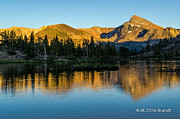 M Chris Brandt - Mt Dana in Fantail Lake