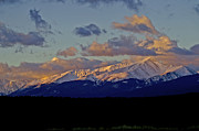 Mt Elbert Framed Prints - Mt Elbert Sunrise Framed Print by Jeremy Rhoades