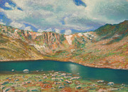 Colorado Paintings - Mt. Evans by Abbie Groves