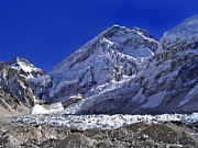 Mt Everest Base Camp Prints - Mt Everest Base Camp Print by Tim Hester