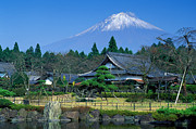 Robert Jensen Metal Prints - Mt. Fuji Japan Metal Print by Robert Jensen
