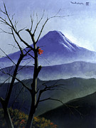 Paul Collins Paintings - Mt. Fuji by Paul Collins