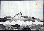 Ambition Painting Prints - Mt. Himang Print by Taikan Nishimoto