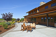 Tasting Photos - Mt Hood winery lodge. by Gino Rigucci
