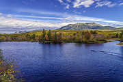 Mt. Katahdin Framed Prints - Mt Katahdin Maine Baxter State Park  Framed Print by Glenn Gordon