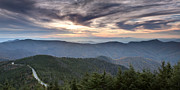 All - Mt Mitchell Sunset Blue Ridge Parkway by Dustin K Ryan