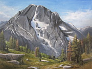 Moran Originals - Mt Moran - Tetons by Mar Evers