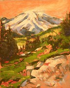 Mary McInnis - Mt Rainier From...