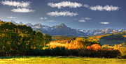 Divide Prints - Mt Sneffels and the Dallas Divide Print by Ken Smith