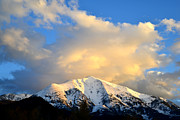 Snow-covered Landscape Photo Prints - Mt. Sopris 1 Print by Ray Mathis