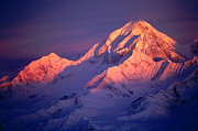 RE Johnson - Mt St Elias Sunrise