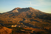 Domes Prints - Mt St Helens From Johnsons Observatory Print by Jeff  Swan