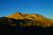 Volcanoes Prints - Mt St Helens In The Morning  Print by Jeff  Swan