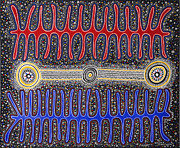 Aboriginal Art Paintings - Mubutj by Darlene Devery
