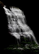 Swallow Falls State Park Art - Muddy Creek Falls  by Justin Bittner